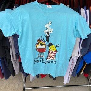 Vintage the barbecuer tee large